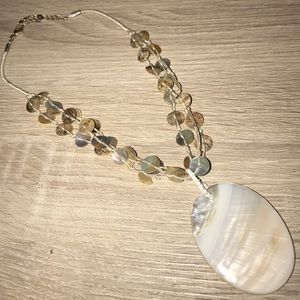 Francesca's Collections Jewelry - Francesca Mother of Pearl Necklace
