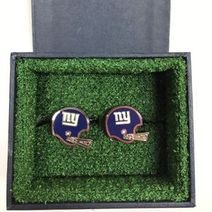 NFL Other - Retro New York Giants Helmet Cufflinks NFL