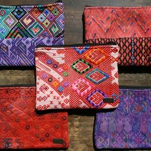 "Ketzali Handbags - Ketzali ""Xubal"" Recycled Textile Makeup/Bag"