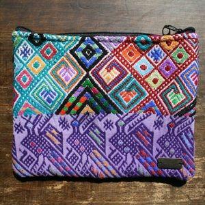 "Ketzali Handbags - Ketzali ""Xubal"" Recycled Textile Makeup/Bag"
