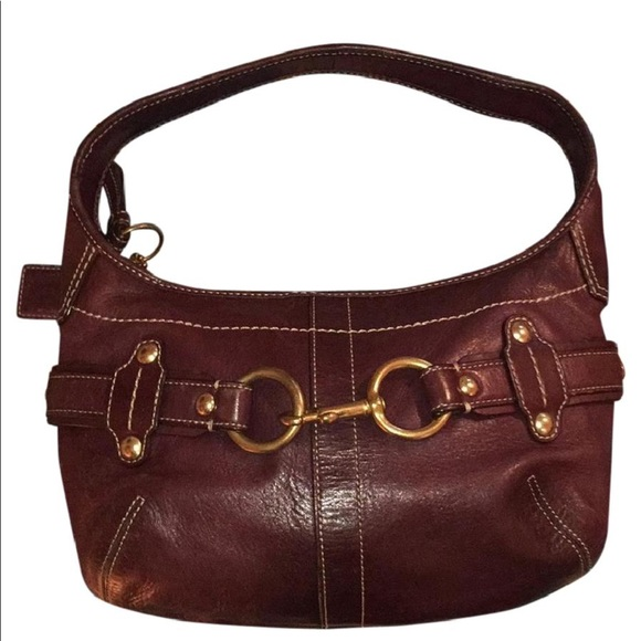65d4937535a Coach Bags   Ergo Belted Hobo Purse Dark Purple Leather   Poshmark