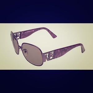 Fendi Accessories - Fendi Purple Sunglasses