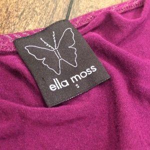Ella Moss Tops - Ella Moss Purple and Gold Top