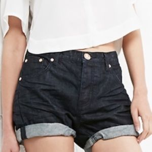 One Teaspoon Pants - One Teaspoon Denim raw charger shorts