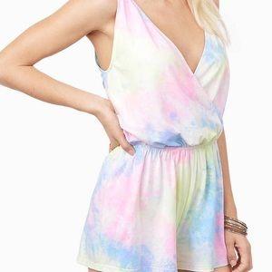 Tobi Dresses & Skirts - Tobi Tye Dye Romper