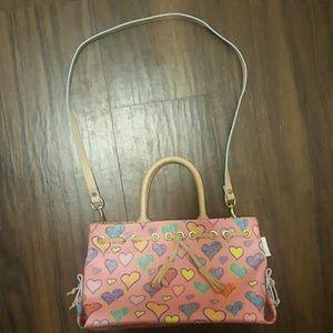 Dooney & Bourke Handbags - Dooney & Bourke heart purse
