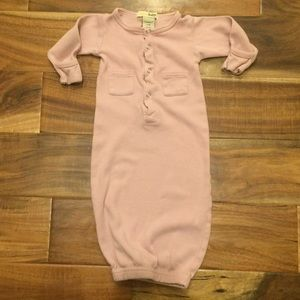 L'ovedbaby Other - L'oved Baby pink baby sleeper gown