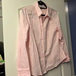 Calvin Klein Tops - Pink button down blouse