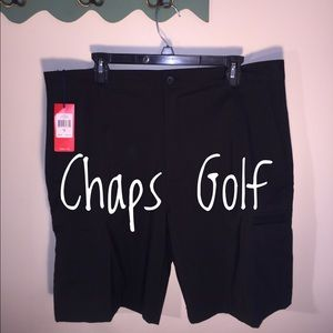 Chaps Other - NEW Chaps Golf Stretch Black Sz 36 Shorts