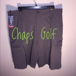Chaps Other - NEW Chaps Golf Stretch Loft Grey Sz 34 Golf Shorts