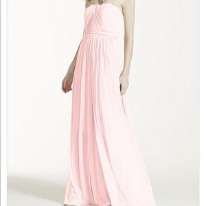 David's Bridal Dresses & Skirts - David's Bridal Versa Convertible Mesh Dress Petal