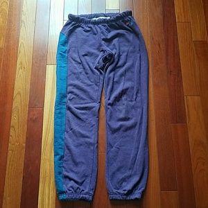 Aviator Nation Pants - RARE Aviator Nation purple sweatpants blue size M