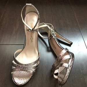 Caparros Shoes - silver Heels