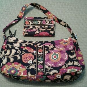 Vera Bradley Handbags - Vera Bradley Euro Style Wallet