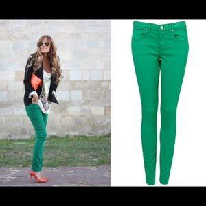 ALLOY Pants - Alloy Apparel green skinny jeans