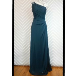 Alex Evenings Dresses & Skirts - Stunning Beaded Turquoise Formal Evening Maxi Gown