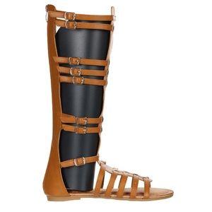LAST 4 // Tan Gladiator Sandals