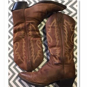 Justin Boots Shoes - Mid Calf Justin Boots