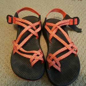 Chaco Shoes - Orange W9 Chacos