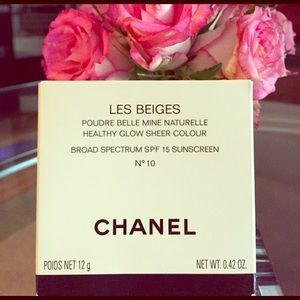 CHANEL Other - CHANEL LES BEIGES Healthy Glow Sheer Color 186.416