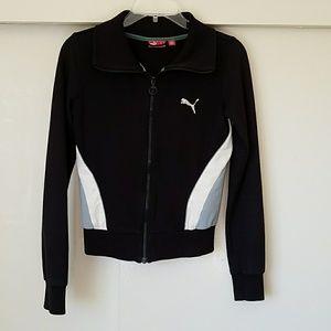 Puma Sweaters - Puma zip up sweater