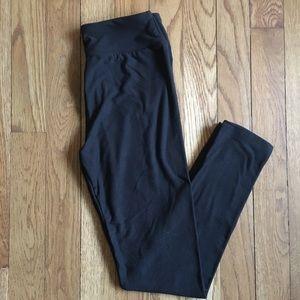 LuLaRoe Pants - RARE New Solid Black Tween LuLaRoe Leggings