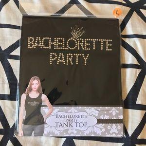 Bachelorette Party Black Tank Top
