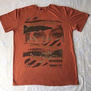 Quiksilver Other - Quiksilver orange shirt cool logo