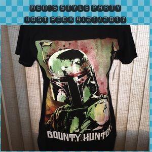 Star Wars Other - Star Wars - Bounty Hunter - Black T-Shirt. NWT