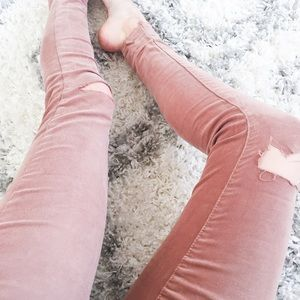 Jolt Pants - Destroyed Rose Pants