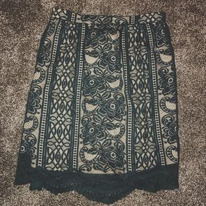 NEW Mossimo Supply Co Lace Skirt