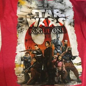 Star Wars Other - Star Wars - Rouge One - Red T-Shirt