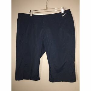 Ladies Nike Bermuda Nylon Shorts Sz Large