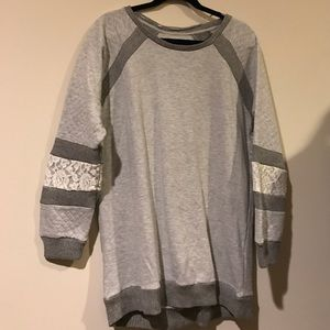 Sweater Dress size 14/16. Over the knee NWOT