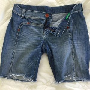 United Colors Of Benetton Denim - Benetton Jean Shorts