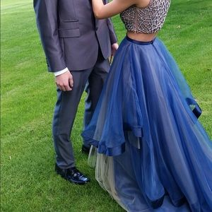 Terani Couture Dresses & Skirts - Dark Blue/Navy Prom Dress