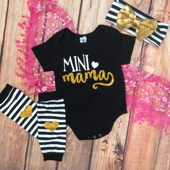 Matching Sets Boutique Baby Girl Mini Mama 4pc Set Poshmark