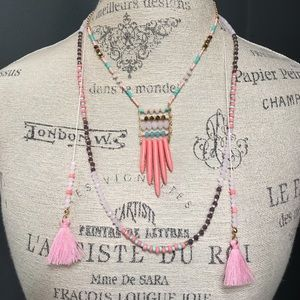 NEW Layered Beaded Necklace