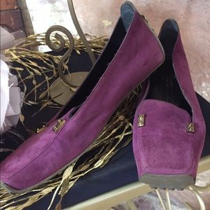 Christian Lacroix Shoes - Christian Lacroix berry colored loafers