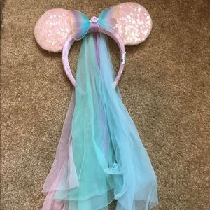 Official Disneyland Butterfly Minnie Ears