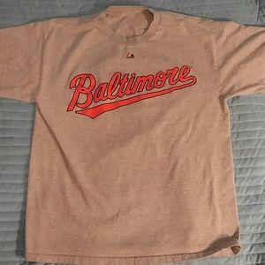 Majestic Other - Baltimore Orioles Adam Jones  t shirt jersey L