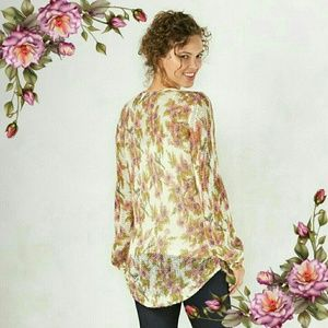 LC Lauren Conrad Sweaters - Floral Open-Knit Sweater. Offers area welcome.