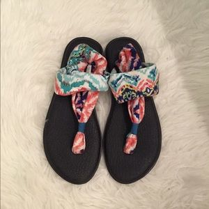 Sanuk Shoes - Multi-Colored Sanuk Sandals