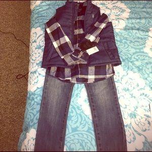 English Laundry Other - NEW English Laundry Boys 6X Bundle Jeans Vest Top