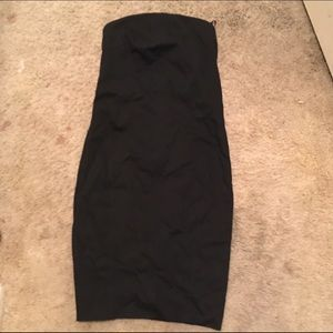 Helmut Lang Dresses & Skirts - Helmet Lang Strapless bodycon dress
