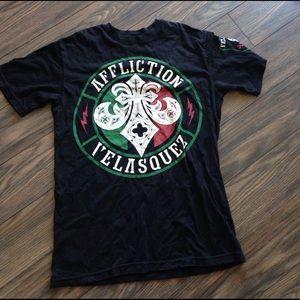 Affliction Other - Affliction team Velasquez black T shirt