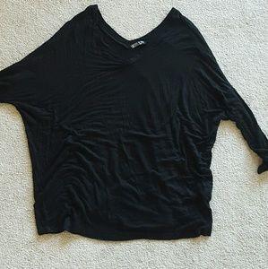 Cotton On Tops - Black flowy shirt