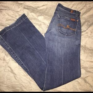 7 FOR ALL MANKIND JEANS DOJO JEANS!!!  SIZE 27