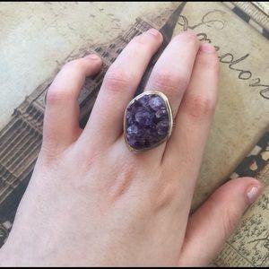 Jewelry - Amethyst Crystal Ring