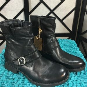 Born Shoes - Born Black Leather Boots New!